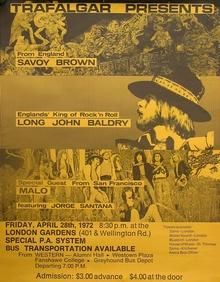 Savoy Brown Tour Dates