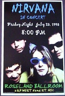 Nirvana Tour Dates Concert History Songkick