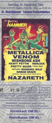 metal hammer festival loreley