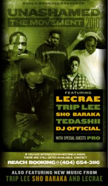 Lecrae Trip Lee Tour
