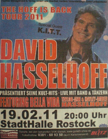David Hasselhoff Tickets Tour Dates 2019 Concerts Songkick