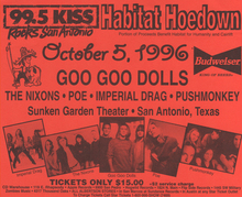 Goo goo dolls seneca niagara casino tickets