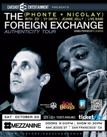 Expand The Foreign Exchange Live