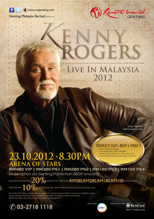 Kenny Rogers Tickets, Tour Dates 2017 & Concerts – Songkick