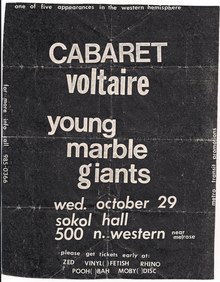Young Marble Giants Tour Dates Concerts Amp Tickets Songkick