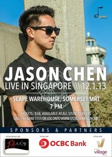 Jason Chen Tour Dates