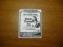 Robin trower tour dates in Sydney