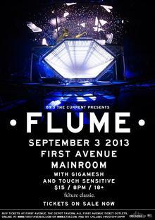 Flume tour dates in Sydney