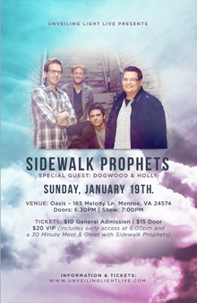 Sidewalk Prophets Tickets, Tour Dates 2017 & Concerts – Songkick