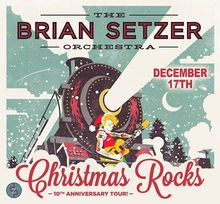 Brian Setzer Orchestra Announces Details For 12th Annual Christmas ...