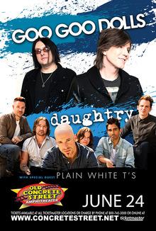 Daughtry tour dates
