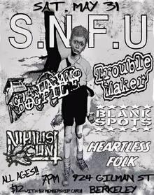 Snfu Tour  Calgary