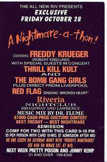 My Life With Thrill Kill Kult Tour