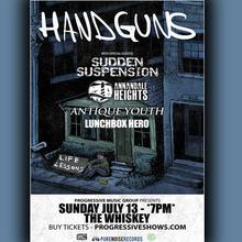 Handguns band live