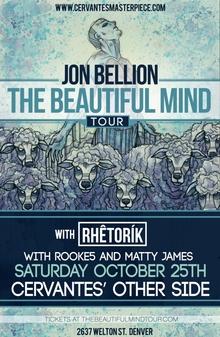 Jon Bellion Beautiful Mind Tour Dates