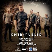 OneRepublic Tour Dates, Concerts & Tickets – Songkick