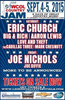 Eric Church Schedule and Appearances   Eventful