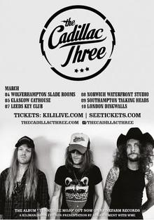 Cadillac three tour