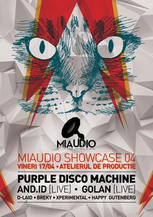 purple disco machine magic