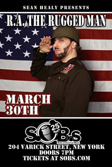 Expand R A The Rugged Man Live