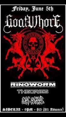 Ringworm Tickets Tour Dates 2019 Amp Concerts Songkick