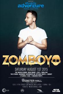Zomboy tour dates in Australia