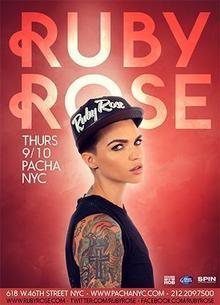 Ruby rose concert 2016