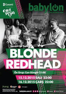 blonde redhead tour dates