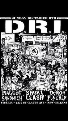 D R I Tickets Tour Dates 2018 Amp Concerts Songkick
