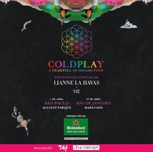 Coldplay Tour  Europa