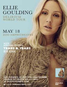 Ellie goulding tour dates