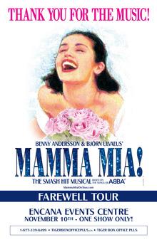 Mamma Mia Tour 2021