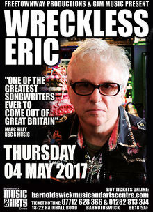 Wreckless Eric Tickets Tour Dates 2019 Amp Concerts Songkick