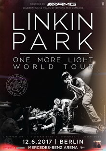 Linkin Park One More Light World Tour October