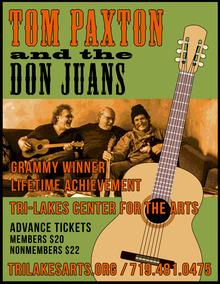 Tom Paxton Tour Dates