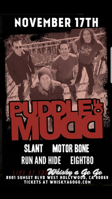 Puddle of Mudd Tickets, Tour Dates 2019 & Concerts – Songkick