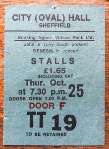 Genesis Tour Dates & Concert History – Songkick