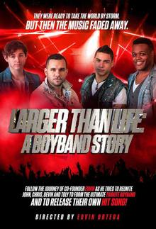 Larger Than Life - The Ultimate Boy Band Tribute Show Tour