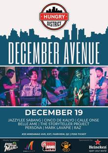 december avenue announcements notifications