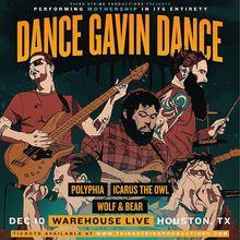 Dance gavin dance tour dates in Sydney