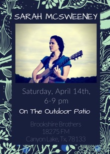 brookshire brothers outdoor patio canyon lake