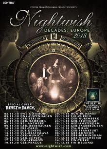 Nightwish Tour 2020.Nightwish Tickets Tour Dates Concerts 2020 2019 Songkick
