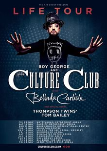 boy george announcements notifications