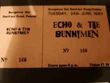 Echo & The Bunnymen Tickets, Tour Dates 2019 & Concerts – Songkick