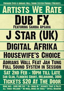 Dub FX Tickets, Tour Dates 2019 & Concerts – Songkick