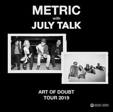 July Talk Lead Singers Dating