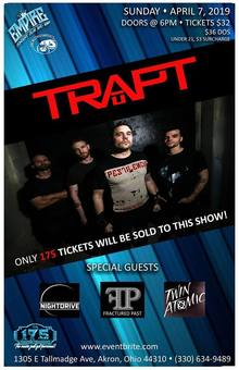 Trapt Tickets, Tour Dates 2019 & Concerts – Songkick