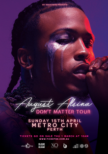 August Alsina Tour Dates, Concerts & Tickets – Songkick