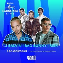 Bad Bunny Near You Tour Dates Amp Concert Tickets 2019