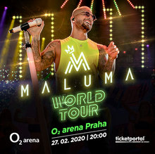 Maluma Tour 2020.Maluma Prague Tickets O2 Arena 27 Feb 2020 Songkick